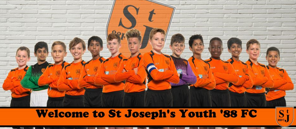 Welcome to St Joseph's Youth '88 FC
