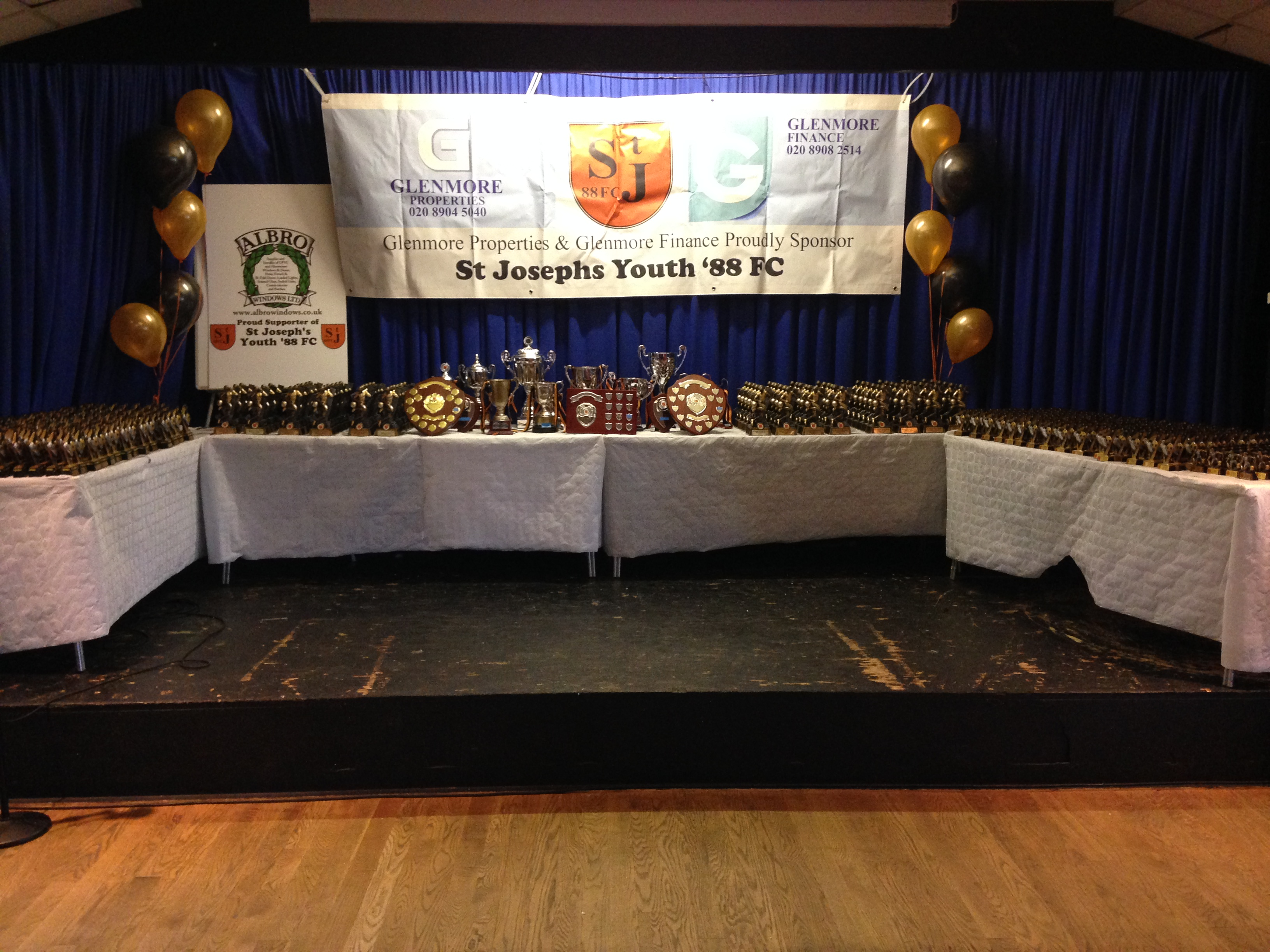 St Joseph's Youth '88 FC – Presentation Day