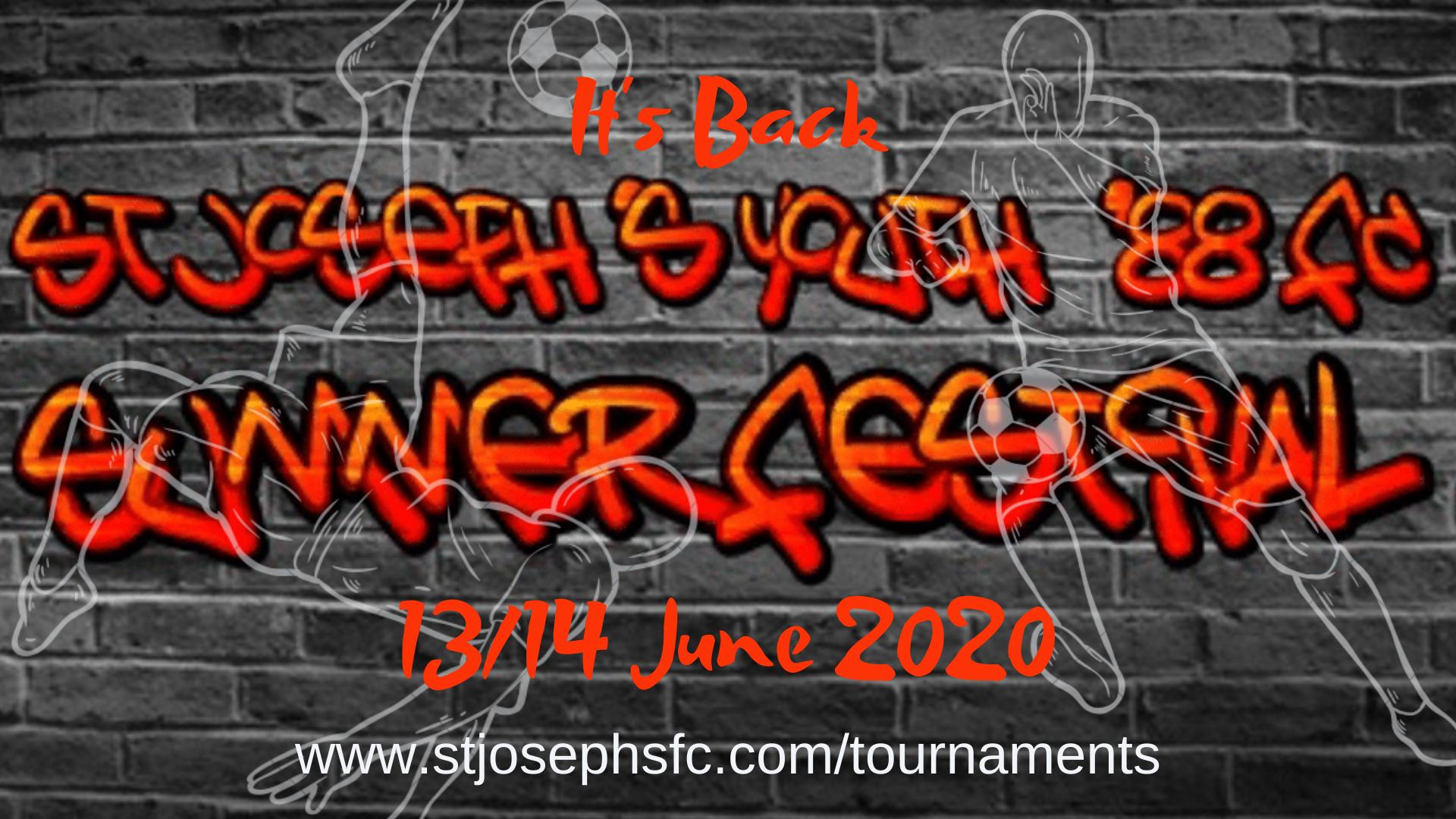 It's Back! – St Joseph's Summer Football Festival 2020